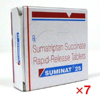 スミナット25mg(イミグランジェネリック)【7箱セット】-1