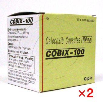 コビックス100mg(セレコックスジェネリック)【2箱セット】-1