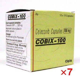 コビックス100mg(セレコックスジェネリック)【7箱セット】-1