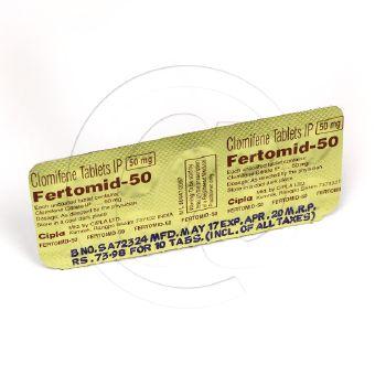 フェルトミッド50mg(クロミッドジェネリック)【5シートセット】-2