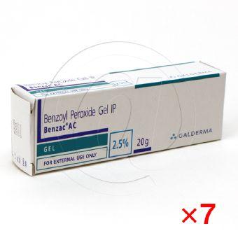 ベンザックACジェル2.5%【7箱セット】-1